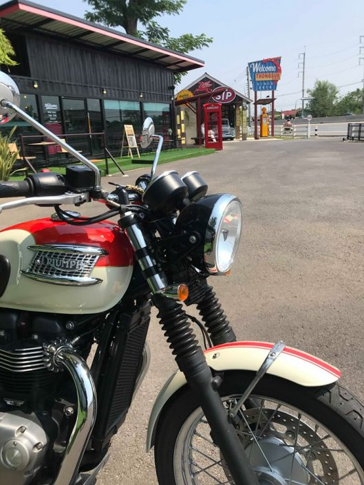 Thai motorbike tour